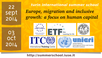 Turin International Summer School 2014