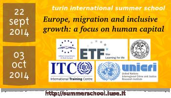 Turin International Summer School 2014